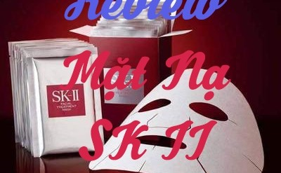 Review Mặt Nạ SKII Facial Treatment