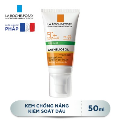 Kem chống nắng La Roche-Posay Anthelios XL Anti-Shine Non-Perfumed Dry Touch Gel-Cream SPF50+